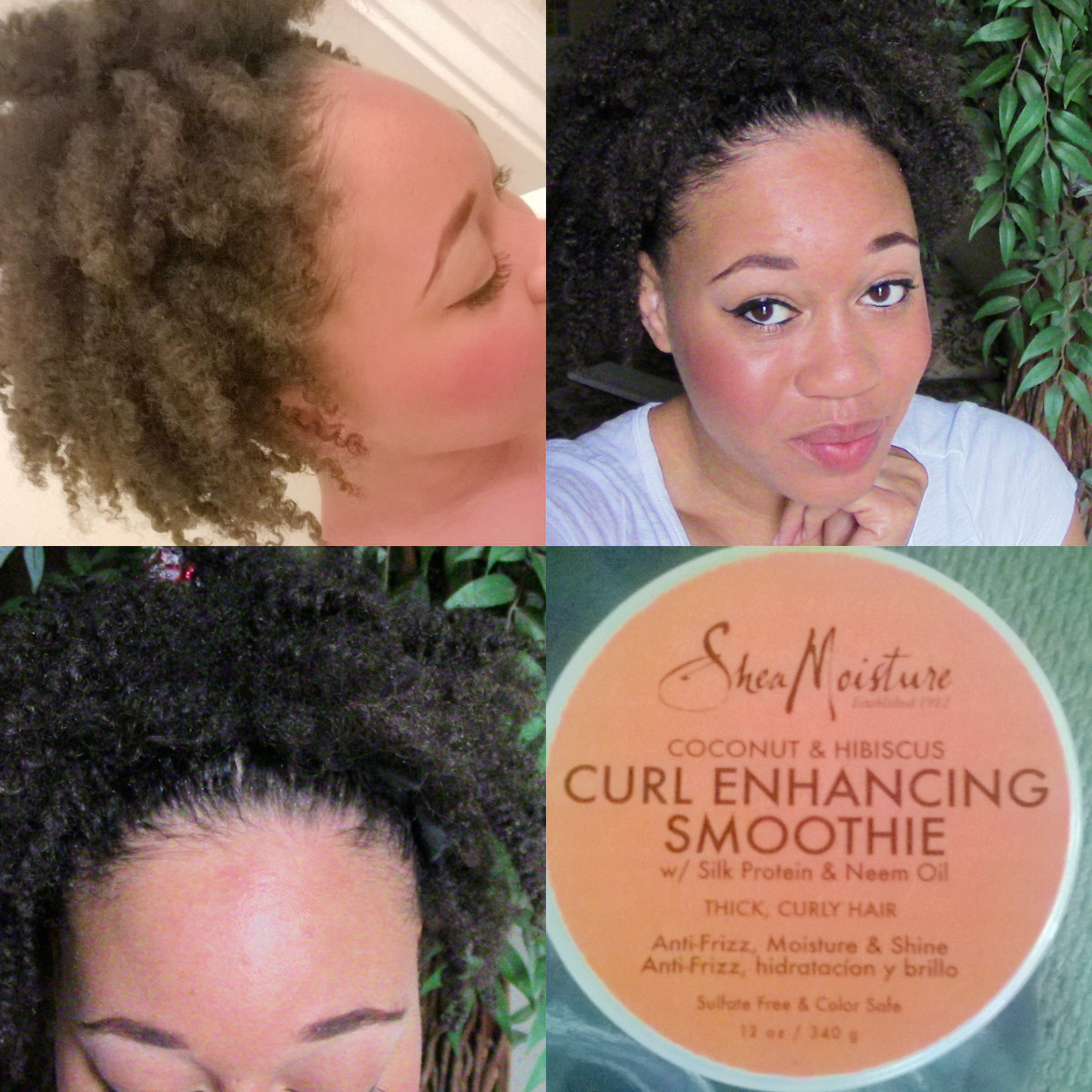 Twist Out Using Shea Moisture Curl Enhancing Smoothie Euniycemarii